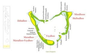 Addu-Atoll auch Seenu-Atoll