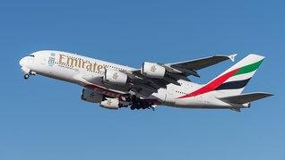 Airbus A380-800 der Emirates