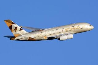 Airbus A380-800 der Etihad Airways