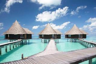 Coco Palm Dhuni Kolhu Wasser Bungalows