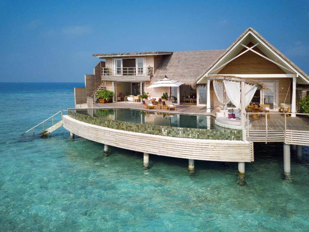 Milaidhoo Island Ozeanresidenz mit Pool