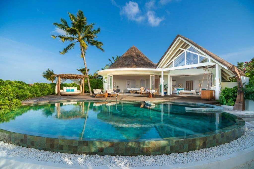 Milaidhoo Island Strandvilla mit Pool