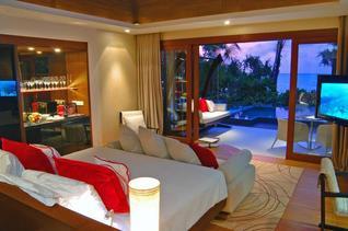 Niyama Private Islands Maldives Insel Villa Wohnbeispiel