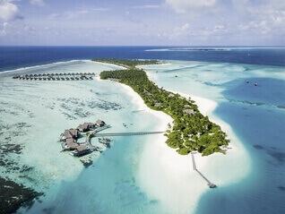 Niyama Private Islands Maldives Insel von oben