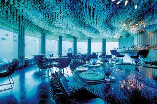 Niyama Private Islands Maldives Unterwasser Restaurant Subsix
