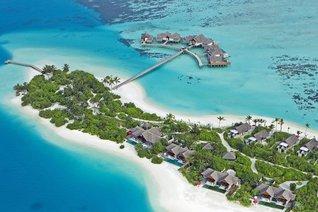 Niyama Private Islands Maldives Insel Resorts von ganz oben