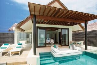 Niyama Private Islands Maldives Wasser Villas mit Pool