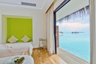 Niyama Private Islands Maldives Wasser Villa Wohnbeispiel