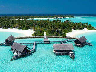 One & Only Reethi Rah Insel Resorts von ganz oben