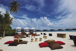Park Hyatt Maldives Hadahaa Resort Relaxing on the Beach