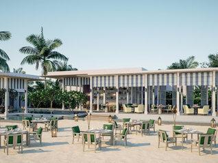 Raffles Maldives Meradhoo Resort Insel Restaurant