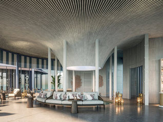 Raffles Maldives Meradhoo Resort Lounge