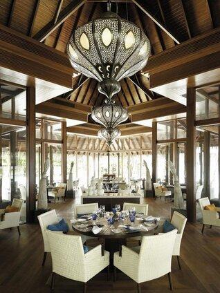 Shangri-La's Villingili Resort und Spa Restaurant