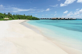 Shangri-La's Villingili Resort und Spa Traum Beach