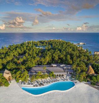 The St. Regis Maldives Vommuli Resort Insel Pool