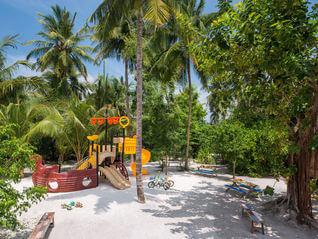 The St. Regis Maldives Vommuli Resort Kinderspielplatz