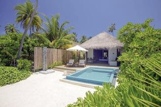 Velassaru Maldives Insel Bungalows Pool