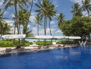 W Maldives Insel Pool