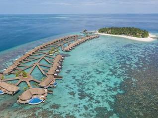 W Maldives Wasser Bungalows