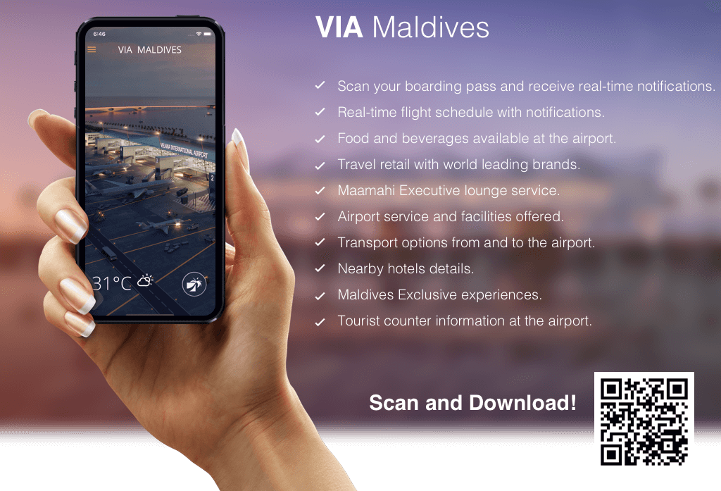 Flughafen APP Malé International Airport MLE Malediven