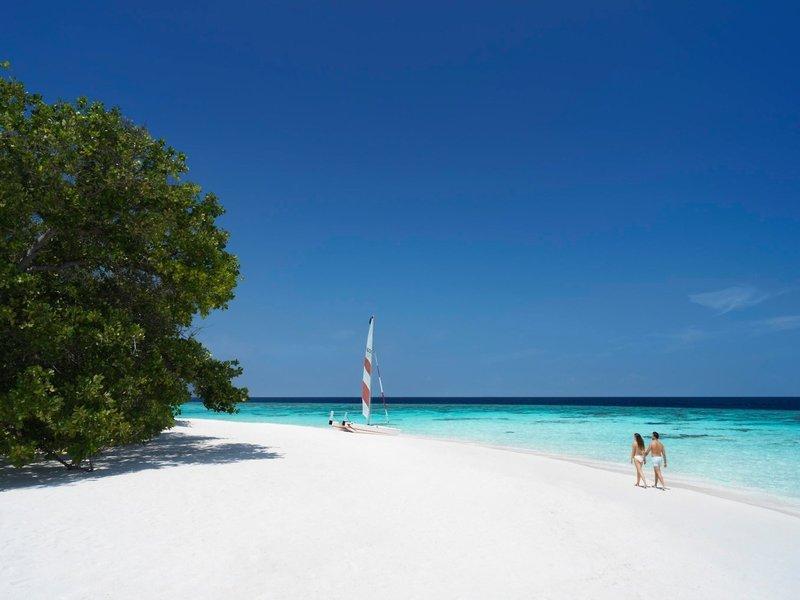 Malediven Flitterwochen zu Zweit