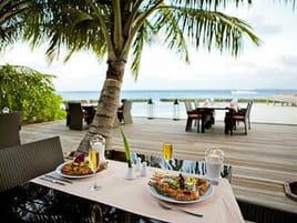 Restaurant Kuramathi Maldives auf den Malediven