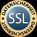 SSL-Verschlüsselung - Ihre Daten sind bei uns sicher.