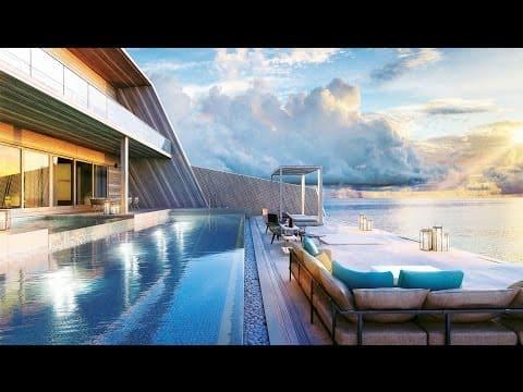 Größte Wasser Villa der Malediven